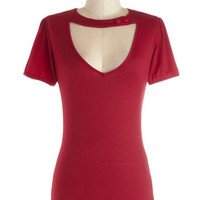 Raven Review Top in Red