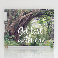 GET LOST in the ENCHANTED FOREST  iPad Case by Tara Yarte