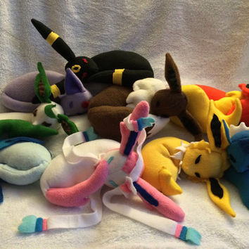 Pokemon Eeveelutions Sleepy Buddies