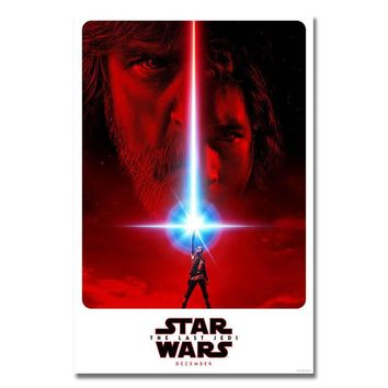 POPIGIST-2017 Star Wars The Last Jedi Episode VIII Movie HQ NEW Silk Or Canvas Poster 13x20 32x48inch For Room Decor