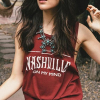 New Summer fashion Sexy Women vest letter pattern brownness sleeveless T-shirt -0706
