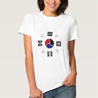 Taegeuk, Taiji, the Great Ultimate, the yin-yang T Tee Shirt