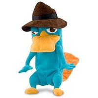 Disney Phineas and Ferb: Transforming Perry Plush with Sound