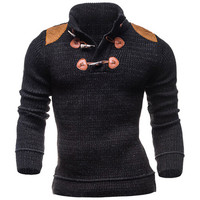 Mens Slim Cool Turtleneck Sweater