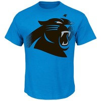 Majestic Carolina Panthers Line of Scrimmage VII Custom Tee - Men