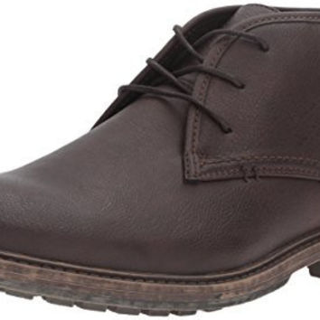 KENNETH COLE UNLISTED MENS ON THE SUBJECT CHUKKA BOOT, DARK BROWN, 13 M US