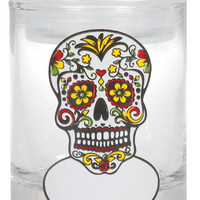Rasta Sugar Skull - Writable Label - Storage Jar