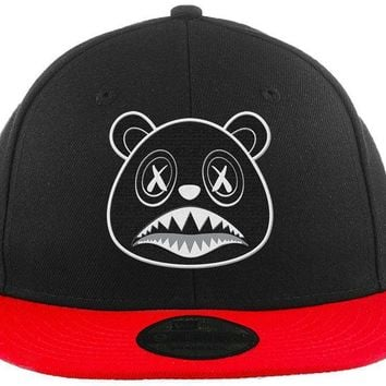 Oreo Baws - New Era 9Fifty 2T Black/Red Snapback Hat