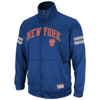 NBA Mens New York Knicks Elevate The Game Full Zip Hoodie By Majestic