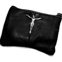 shopwithasianstereotypes: Leather Lord Zip Wallet