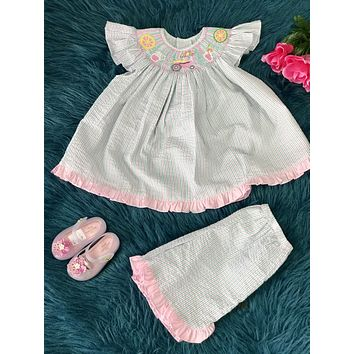 2019 Mom N Me Spring & Summer Lemonaid Shorts Set