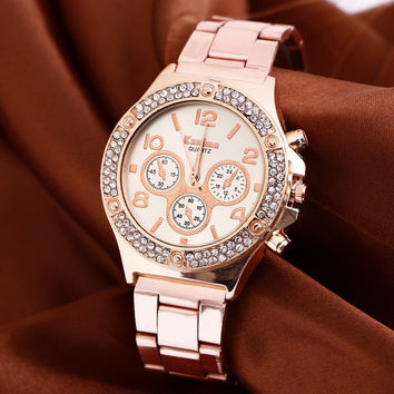 New quartz rose gold watches women luxury golden wristwatch hodinky lady clock female relogio feminino reloj mujer montre femme = 1956602628