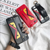FENDI print phone shell phone case for Iphone 6/6s/6p/7p/7/8/8p/x