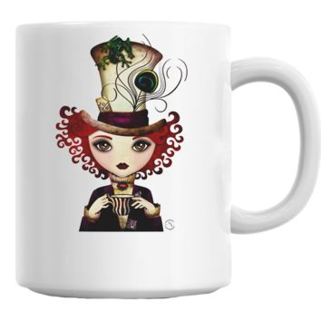 Lady Hatter (Alice in Wonderland) Mug