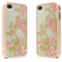 Matte PC Hard Case for iPhone 4 & 4S