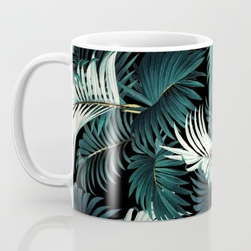 TROPICAL JUNGLE - Night Coffee Mug by burcukorkmazyurek