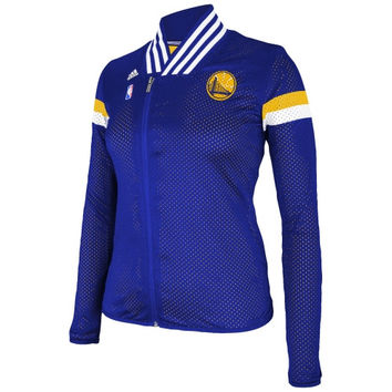 Golden State Warriors adidas Women's 2014 On-Court Jacket - Royal Blue