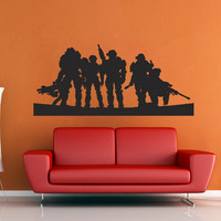 Halo Spartan Wall Decal