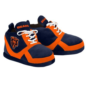 BEARS Colorblock Slippers - NEW -  USA SHIP - Chicago Bears 15