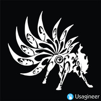 POKEMON NINETALES GAME DECAL STICKER