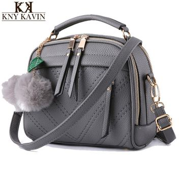 2016 New Arrival Knitting Women Handbag Fashion Pu Leather Shoulder Bag Small Flap Casual Cross Body Bag Retro Tote