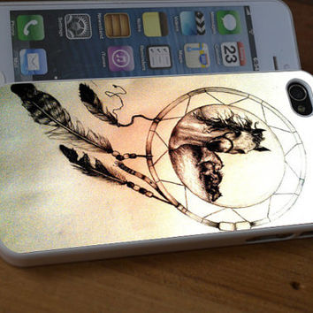 iPhone Case Horse Dreamcatcher For iPhone 4/4s/5/5s/5c,Samsung S3/S4