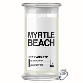 Myrtle Beach City Jewelry Candle