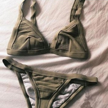 Summer Bikini Set Swimsuit Swimwear