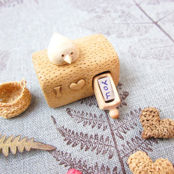 Made to Order, I Love You miniature drawer, wood carving miniature, wood art, Valentines gift, minature art, Personalized Gifts, unique gift