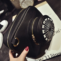 Women Cute Lovely Creative Camera Shape Shoulder Bags Crossbody Bags
