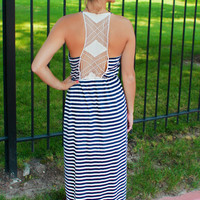 Get In Line Maxi Dress