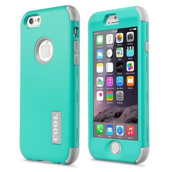 New For Apple Iphone 6 4 7 Protect Case Cover Slim Hybrid Dual Layer Shockproof Tpu Hard Phone Cases W Screen Protector Pen