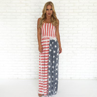 American Honey Maxi Dress