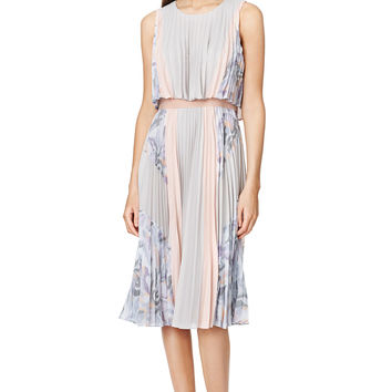 BCBGMAXAZRIA Ola Pleated Dress
