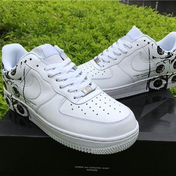 Air force 1 x supreme x cdg while Basketball Shoes 36-45