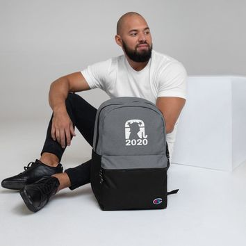 Trump 2020 Embroidered Champion Backpack