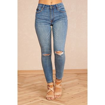 Reflect On The Good Jeans (Blue)