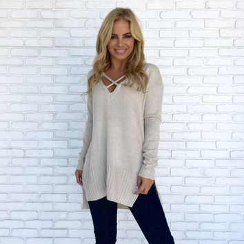 Oat Of This World Sweater Top