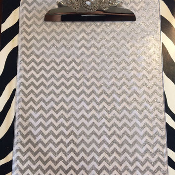 BEDAZZLED CLIPBOARD