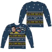 Star Trek TOS Ugly Christmas Sweater