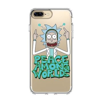 RICK AND MORTY MONSTER 1 iPhone and Samsung Galaxy Clear Case