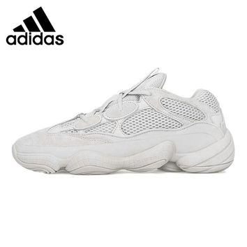 Adidas Yeezy Desert Rat 500 Blush Men's and Women's Running Shoes, White, Non-slip Wear-resistant  Breathable DB2908