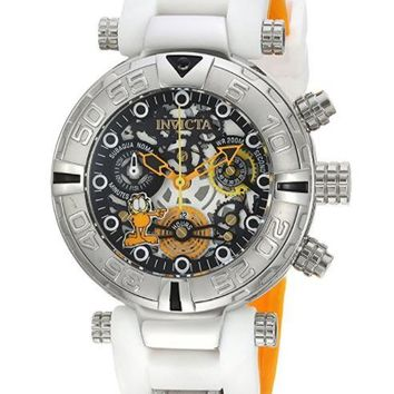 Invicta 24881 Women's Character Collection Quartz Stainless Steel and Silicone Casual White Watch
