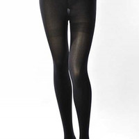 Opaque Basic Tights - Black