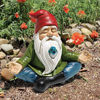 Park Avenue Collection Zen Garden Gnome Statue
