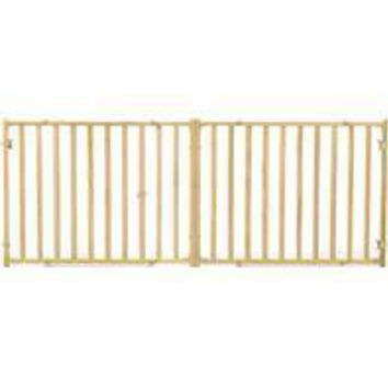 Midwest Homes For Pets - Extra-wide Wood Pet Gate