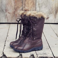 Igloo Snow Boots in Brown