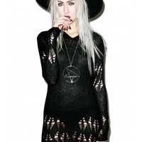 Killstar Creep Knit Sweater | Dolls Kill