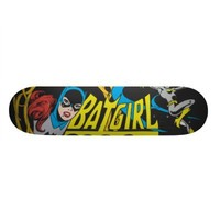 Batgirl Display Custom Skate Board from Zazzle.com