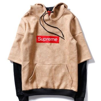 Supreme A Couple Of Hoodie Sweater Stitching